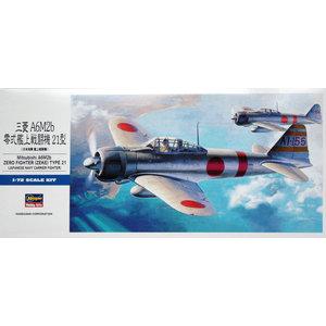 Hasegawa . HSG 1/72 A6M2 Zero Fighter Type 21