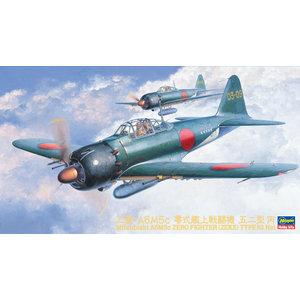 Hasegawa . HSG 1/48 Mitsubishi A6M5C Zero Fighter Type 52 Hei