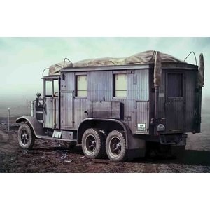 Icm . ICM 1/35 Krupp L3H163 Kfz.72, WWII German Radio Communication Truck