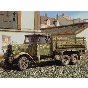 Icm . ICM 1/35 Henschel 33 D1, WWII German Army Truck