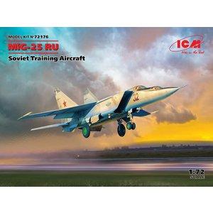Icm . ICM 1/72 MiG-25 RU Soviet Training Aircraft