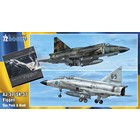 Special Hobby . SHY 1/72 SAAB 37 Viggen Duo Pack & Book