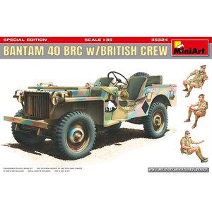 Miniart . MNA 1/35 Bantam 40 BRC w/ British Crew. Special Edition