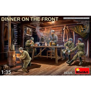 Miniart . MNA 1/35 Dinner on the Front