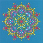 Dimensions . DMS Mandala Dots - Paint By Number Art Design Calgary
