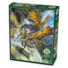 Cobble Hill . CBH Waterfall Dragons 1000pc Puzzle