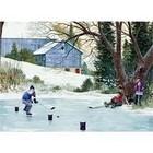 Cobble Hill . CBH Hockey Drills 500 pc Puzzle Calgary Nature