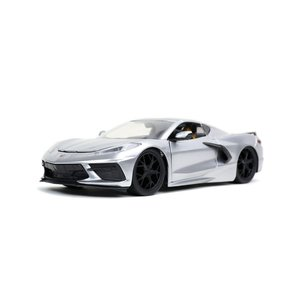 "Jada Toys . JAD 1/24 ""BIGTIME Muscle"" 2020 Corvette Stingray - Candy Silver"