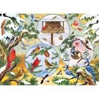 Cobble Hill . CBH Winterbird Magic 500pc Puzzle