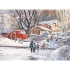 Cobble Hill . CBH Big Game Tomorrow 500pc Puzzle