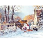 Cobble Hill . CBH First Snow 275pc Puzzle