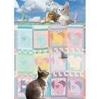 Cobble Hill . CBH Quilted Kittens 500pc Puzzle