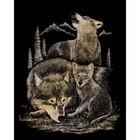 Royal (art supplies) . ROY Gold Engraving Art Wolves Nature Calgary Animals