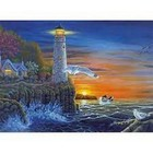 Royal (art supplies) . ROY Waterside Lighthouse - Paint by Number Nature Calgary