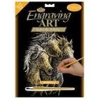 Royal (art supplies) . ROY Gold Engraving Horses Art Nature Animals Calgary