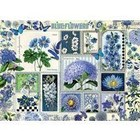 Outset Media . OUT Blue Flowers 1000pc Puzzle