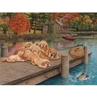 Cobble Hill . CBH Lazy Day On The Dock 275 pc Puzzle