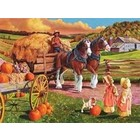 Cobble Hill . CBH Hay Ride 275pc Puzzle