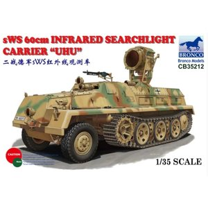 Bronco Models . BRC 1/35 sWS 60cm Infrared Searchlight Carrier UHU Military Truck