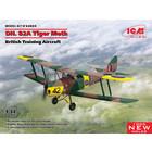 Icm . ICM 1/32 D.H. 82A Tiger Moth - British Training Aircraft