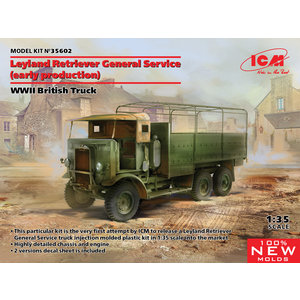 Icm . ICM 1/35 Leyland Retriever General Service Early Production - WWII British Truck