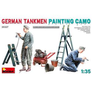 Miniart . MNA 1/35 German Tankmen Painting Camo