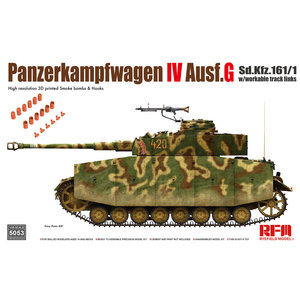 Rye Field Model . RFM 1/35 Panzer IV Ausf G without Interior