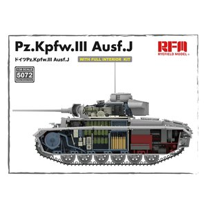 Rye Field Model . RFM 1/35 Panzer 3 w/ Full Interior