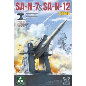 TAKOM . TAO 1/35 Russian Navy SA-N-7 GADFLY &SA-N-12