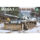 TAKOM . TAO 1/35 M60A3 w/M9 Bulldozer