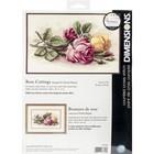 "Dimensions . DMS Cross Stitch Kit 14""X9"" - Rose Cuttings"