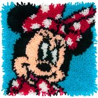 """Dimensions . DMS Latch Hook Kit 12""""X12"""" Minni Mouse"""