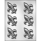 CK Products . CKP Fleur De Lis Chocolate Mold 3""