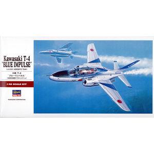 "Hasegawa . HSG 1/48 T-4 ""Blue Impulse"""