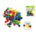 MultiCraft . MCI 10mm-16mm Asst Round Beads 50/pk Colored