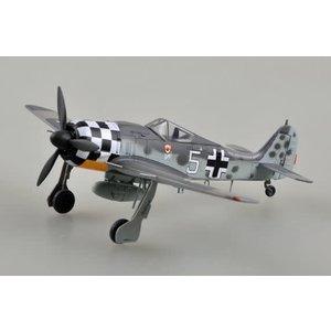"Model Rectifier Corp . MRC 1/72 FW190A-6, ""white 5"", Uffz Rudolf Hubl.I./JG1"