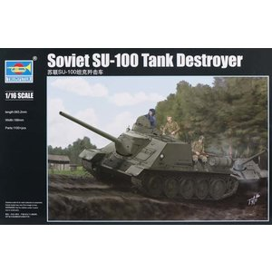 Trumpeter . TRM 1/16 Soviet SU-100 Tank Destroyer