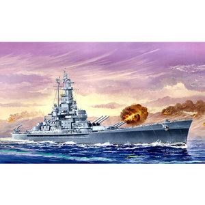 Trumpeter . TRM 1/700 USS Massachusetts (BB-59)