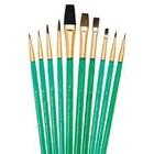 Royal (art supplies) . ROY Camel Brush Set - 10pc Sable