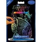 Royal (art supplies) . ROY Mini Engraving Art Colorful Tropical Fish Nature Calgary