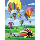 Royal (art supplies) . ROY Paint By Number - Hot Air Balloon Summer Activity Calgary