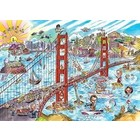Cobble Hill . CBH Doodle Town: San Francisco - Puzzle 1000pc Calgary