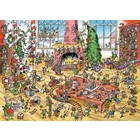 Cobble Hill . CBH Doodle Town : Elves At Work- Puzzle 1000pc Calgary Jigsaw Puzzle