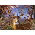 Cobble Hill . CBH Deer And Pheasant - Puzzle 500pc Nature Animals Calgary