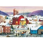 Cobble Hill . CBH Winter Neighbors - Puzzle 1000pc