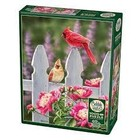 Cobble Hill . CBH Cardinals And Peonies - Puzzles 1000pc Calgary