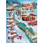 Cobble Hill . CBH Christmas Campers - Puzzle 1000pc Calgary