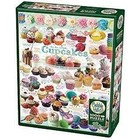 Cobble Hill . CBH Cupcake Time - Puzzle 1000pc Food Calgary