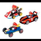 Carrera Racing . CRR Carrera Pull & Speed Mario Kart Mario 3Pack (Wii, MK8, Mach 8)