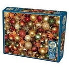 Cobble Hill . CBH Christmas Balls and Decorations - Puzzle 500pc Calgary